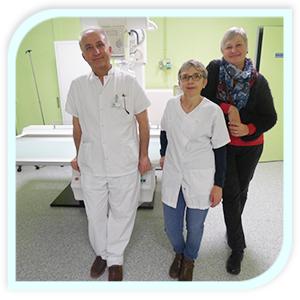 Equipe imagerie medicale du CH de Chateau du loir