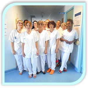 Equipe médecine du CH de Chateau du loir