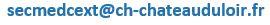 Adresse mail CE du CH de Chateau du loir