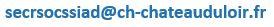 Adresse mail service social du CH de Chateau du loir